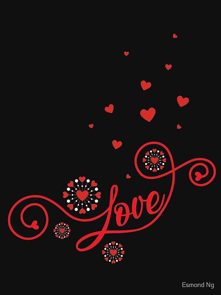 Flower Love Valentine's Day T-Shirt - Flower  Pollen by Poxiel