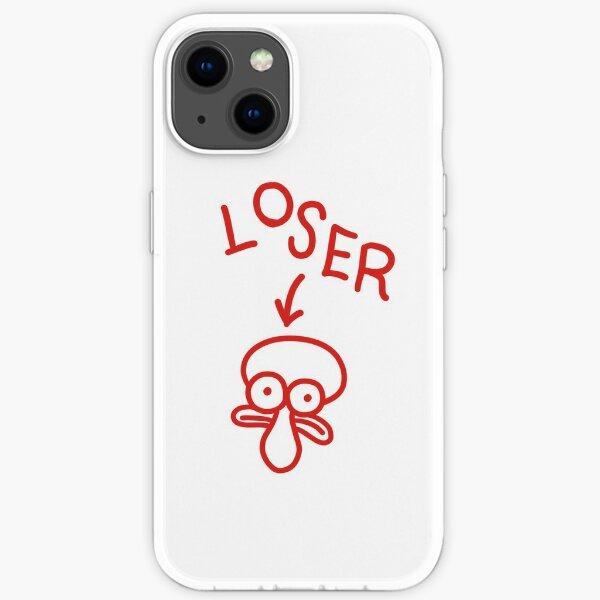 Squidward Loser iPhone Soft Case