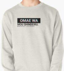 Omae Wa Mou Shindeiru Pullover