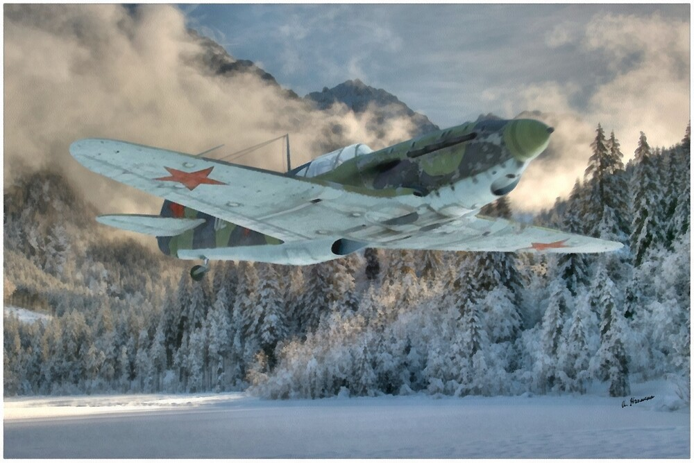 Lone Wolf by AH-Aviation-Art