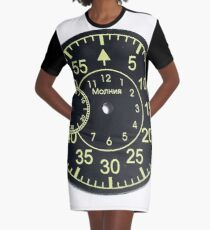 Techno Punk Clothing Graphic T-Shirt Dress