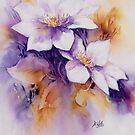 Clematis by Bev  Wells