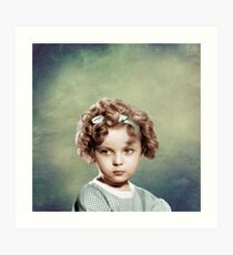 Sweet Shirley Temple Art Print