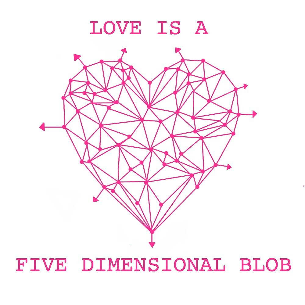 Love is a five dimensional blob by DropOfGoldenSun