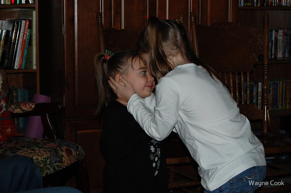 I love you, little sister, my dearest friend by Wayne Cook