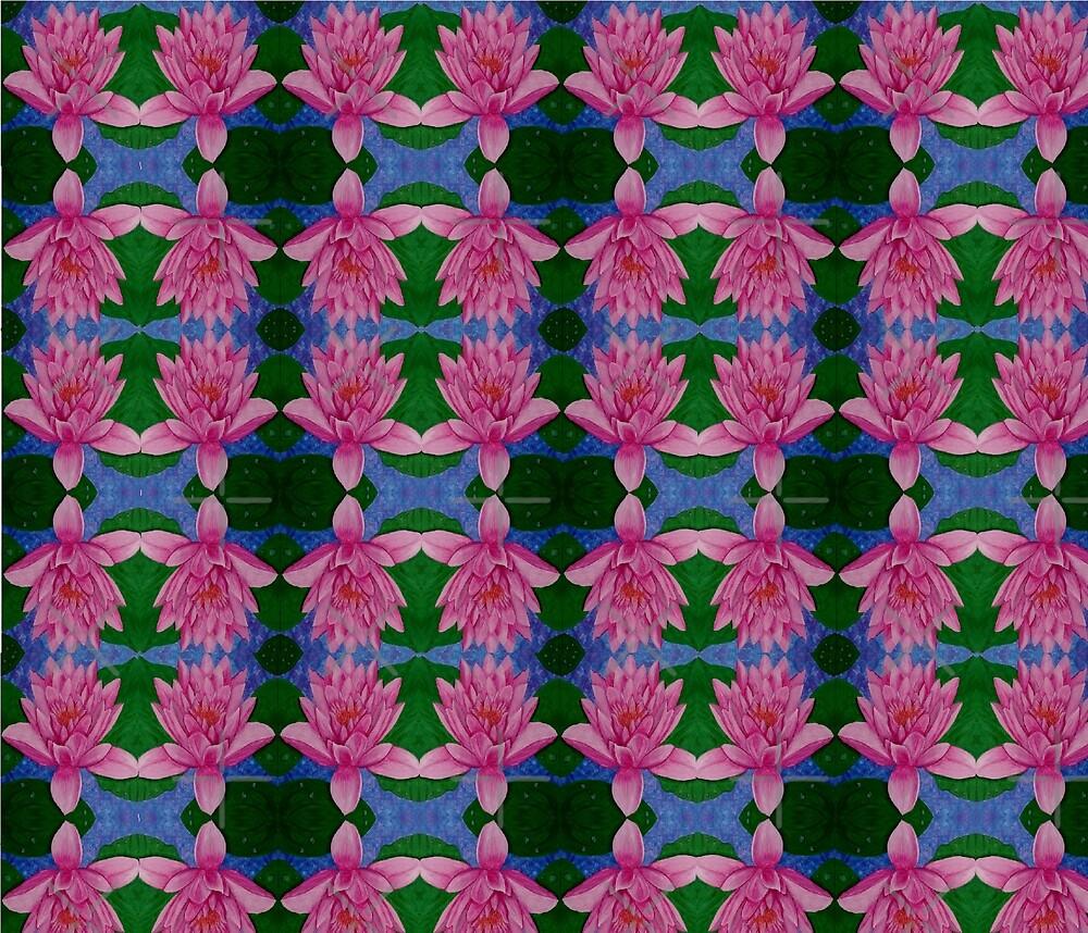 Water Lily pattern by AmazingCorn