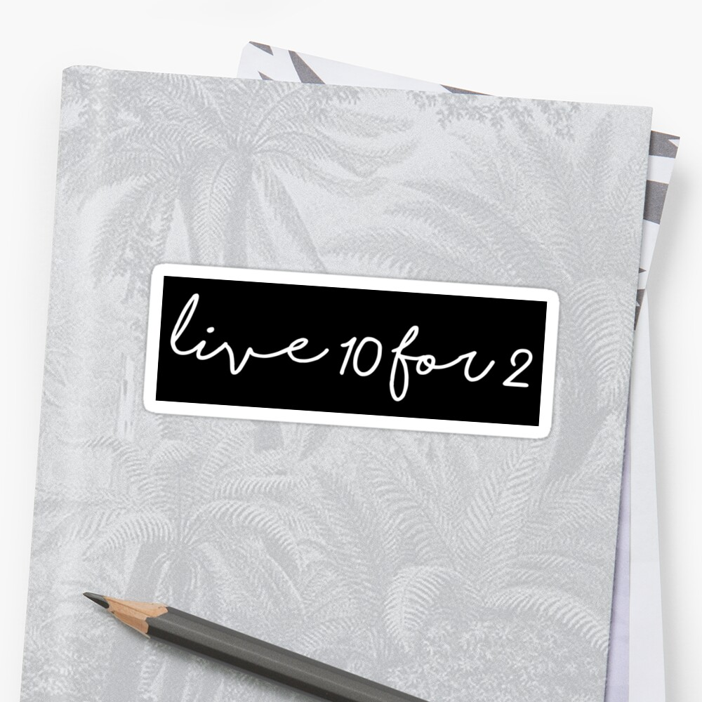 CAMP live 10 for 2 by MadEDesigns