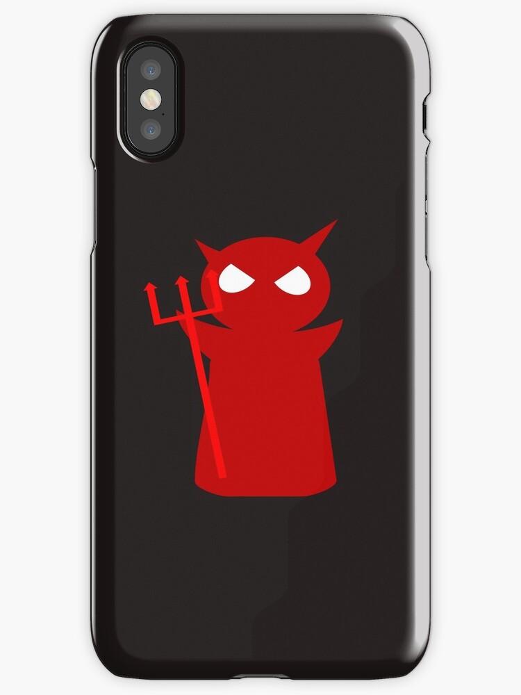 Devil phone casing by Gabriel Koljubakin