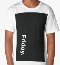 Friday with Pantone Cool Gray 47 C Long T-Shirt