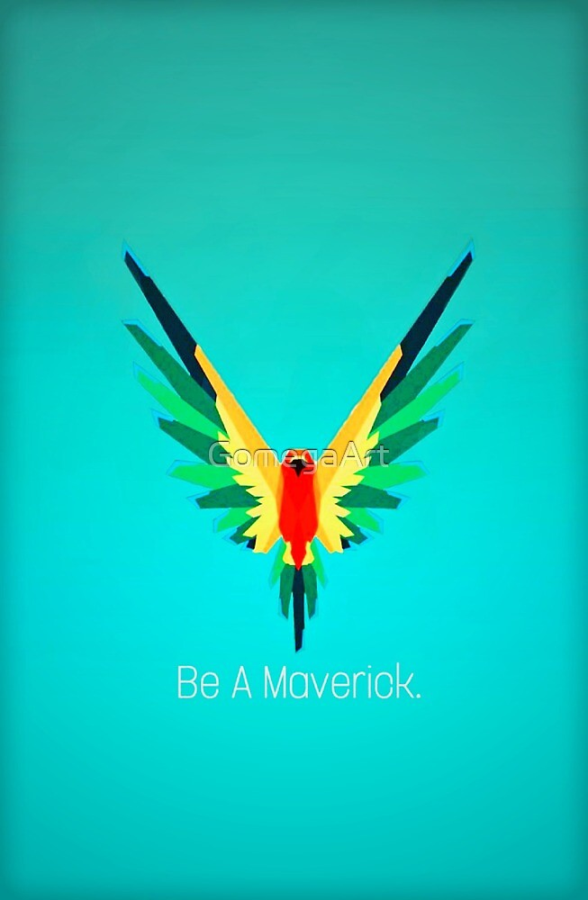Be A Maverick - Logan Paul by GomegaArt
