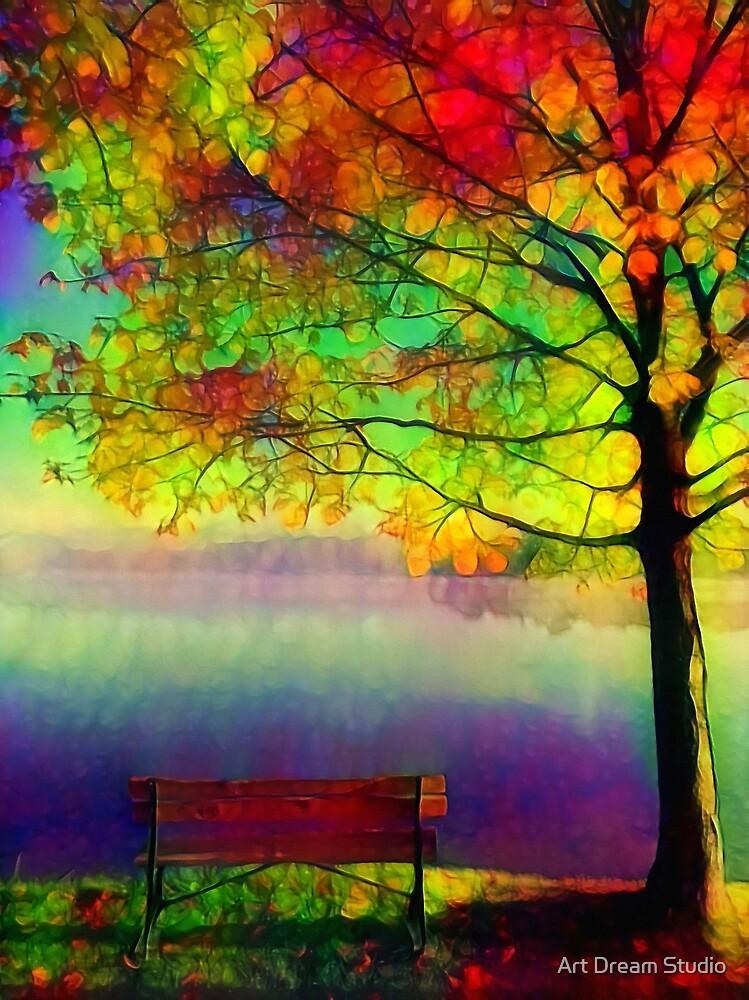 LOnely Tree by Art Dream Studio