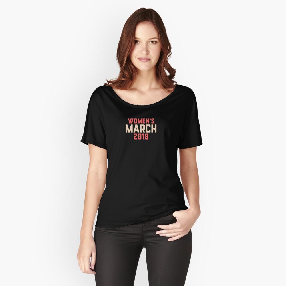 womens merch 2018 Women's Relaxed Fit T-Shirt Front