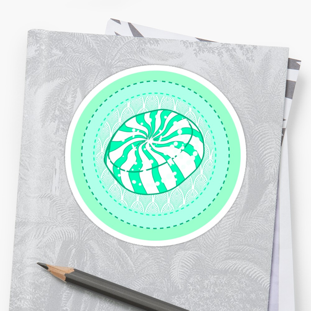 Peppermint Hard Candy Sticker by FTMLand