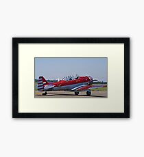 "North American AT-6 Harvard — SAAF 7001 — ""Inkwazi"" Framed Print"