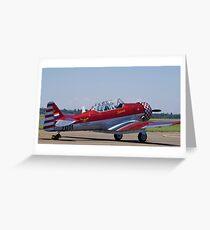 "North American AT-6 Harvard — SAAF 7001 — ""Inkwazi"" Greeting Card"