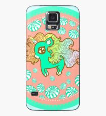Peppermint Unicorn with Peppermint Candy Case/Skin for Samsung Galaxy