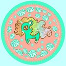 Peppermint Unicorn with Peppermint Candy by FTMLand