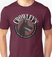 Crowley's Hellhound Training School Unisex T-Shirt