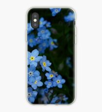 Forget-Me-Nots  (Myosotis scorpioides) iPhone Case