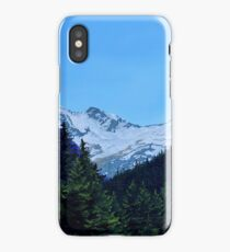 Trees on a Mountain Drive iPhone Case/Skin