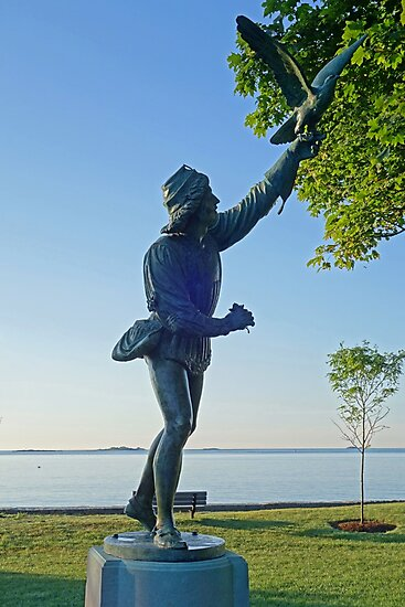 Lynch Park Statue Beverly MA by WayneOxfordPh