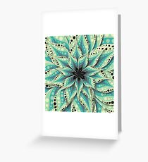 Super flower Greeting Card