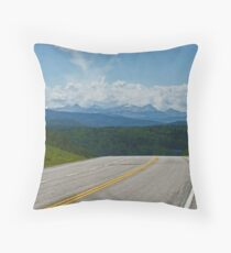 Into The Abyss Throw Pillow
