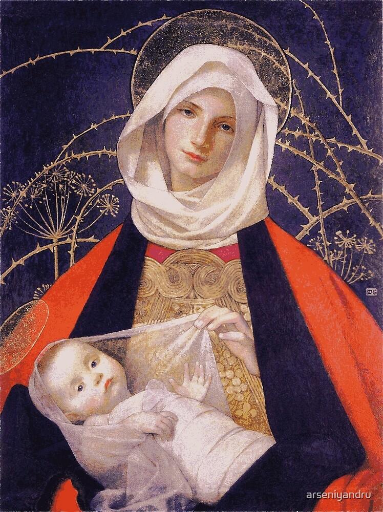 Mary by arseniyandru