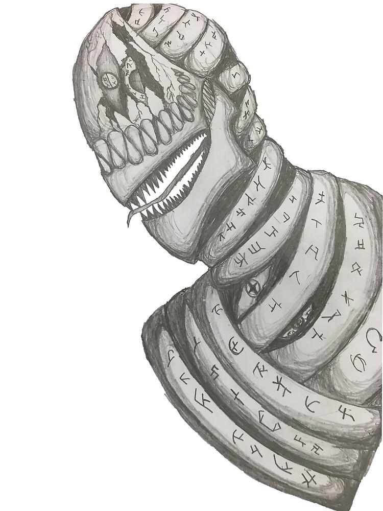 Horror Skull by Dedhead
