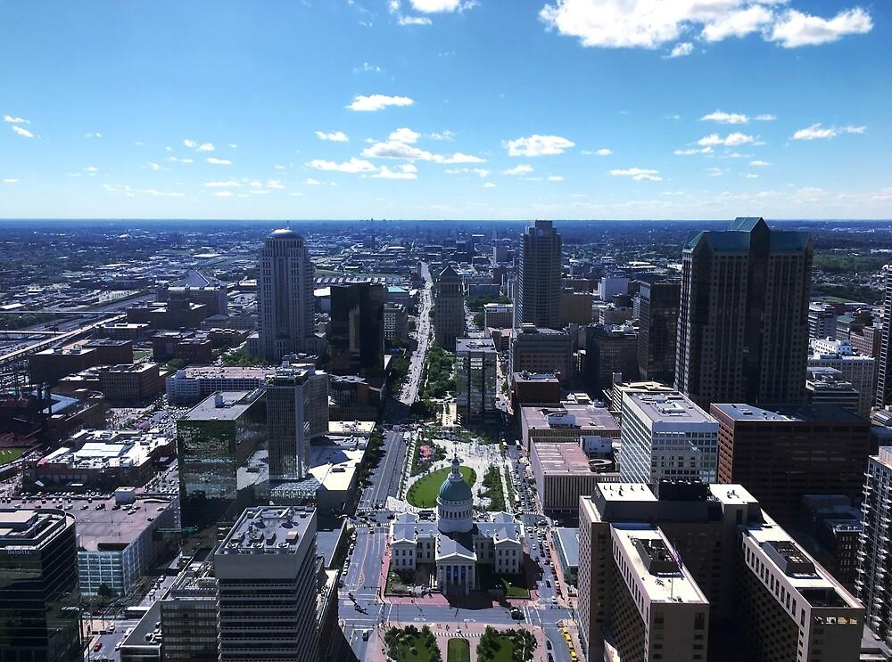 St Louis Skyline by codyaj1995