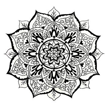 Lovely Mandala by CraftyRedFox
