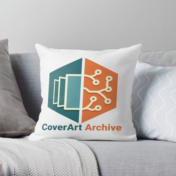 CoverArt Archive Throw Pillow