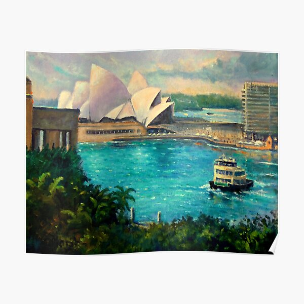 Opera House, Sydney Harbour Poster