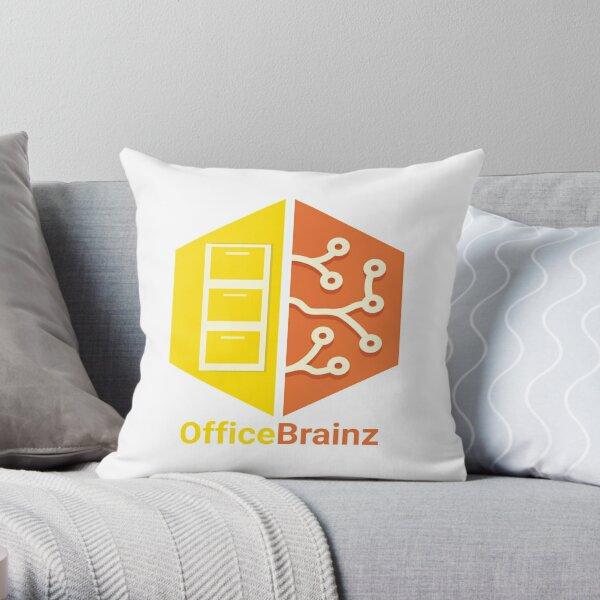 OfficeBrainz Throw Pillow