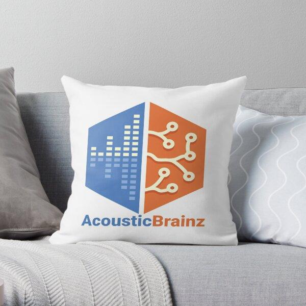 AcousticBrainz Throw Pillow