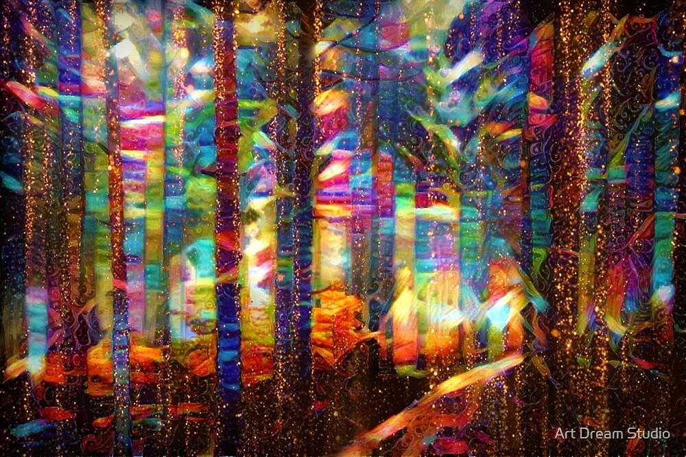 Shimmery woods by Art Dream Studio