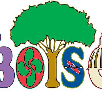 Boise Letters Design by AnitaTshirt