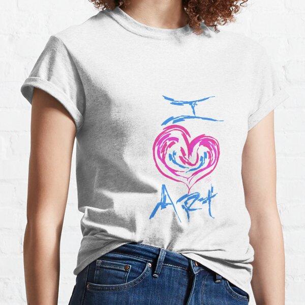I Love Art Classic T-Shirt