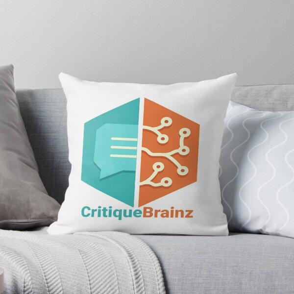 CritiqueBrainz Throw Pillow