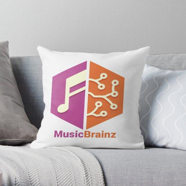 MusicBrainz Throw Pillow