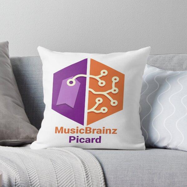 MusicBrainz Picard Throw Pillow