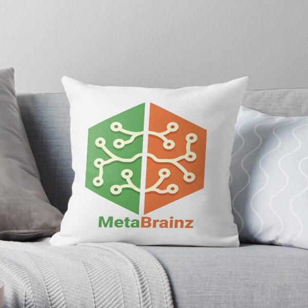 MetaBrainz Throw Pillow