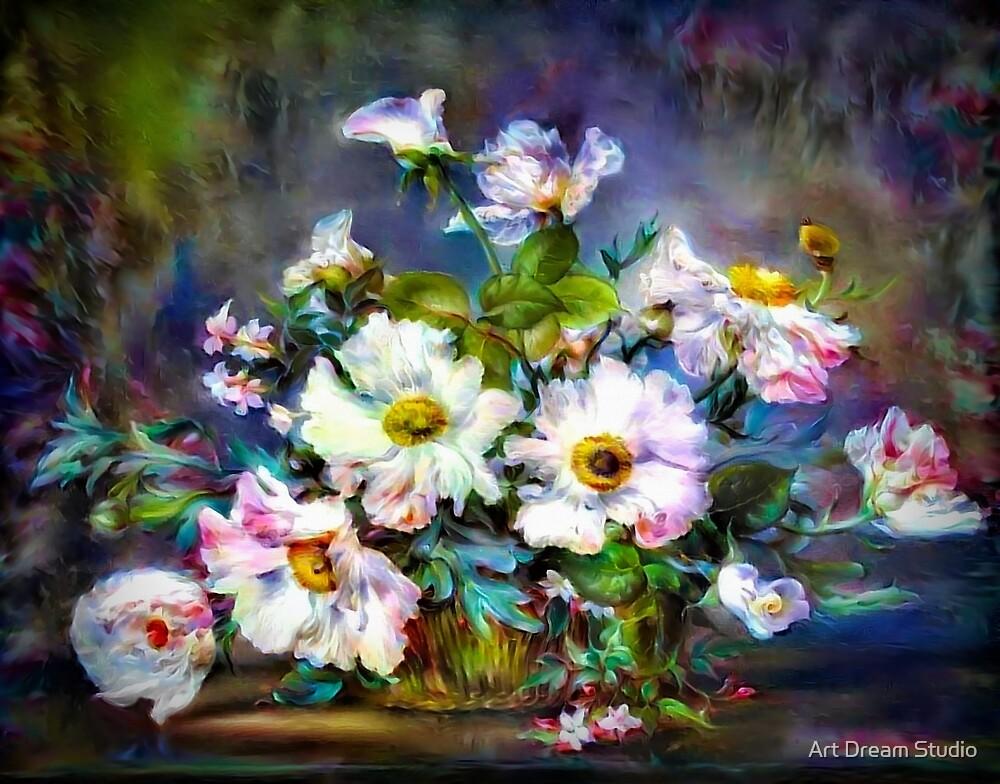 Fresh Flowers by Art Dream Studio