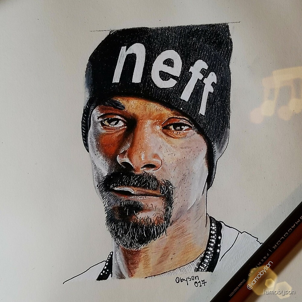 Snoop Dogg Portrait by Thomas Obewu