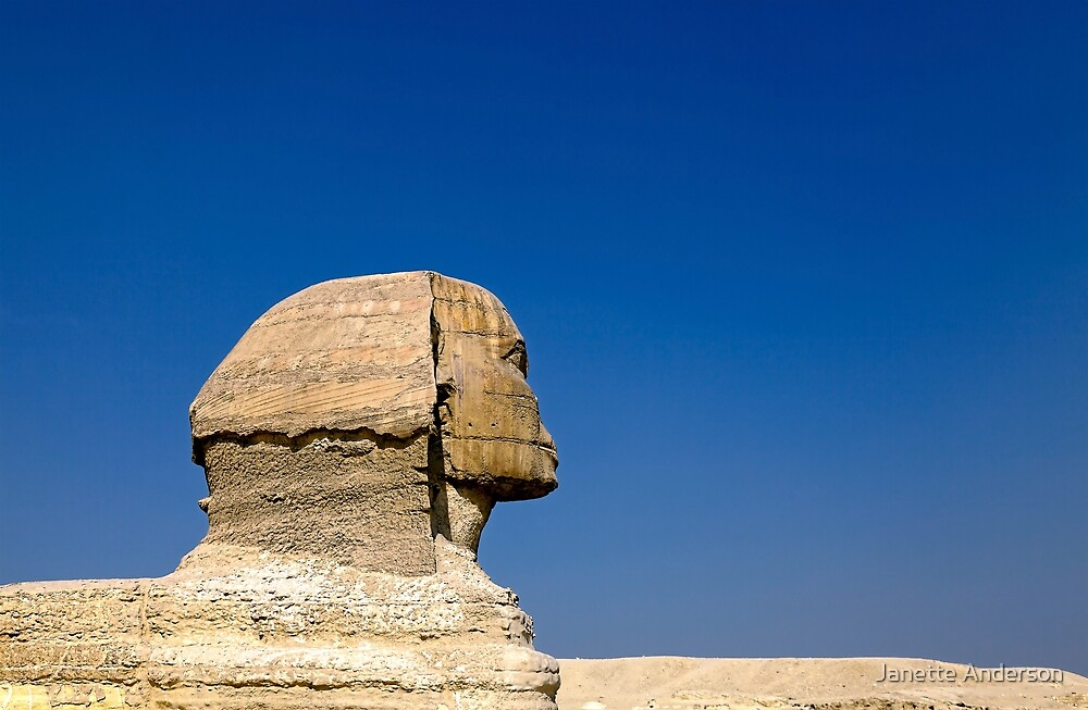 The Great  Sphinx of Giza by Janette Anderson