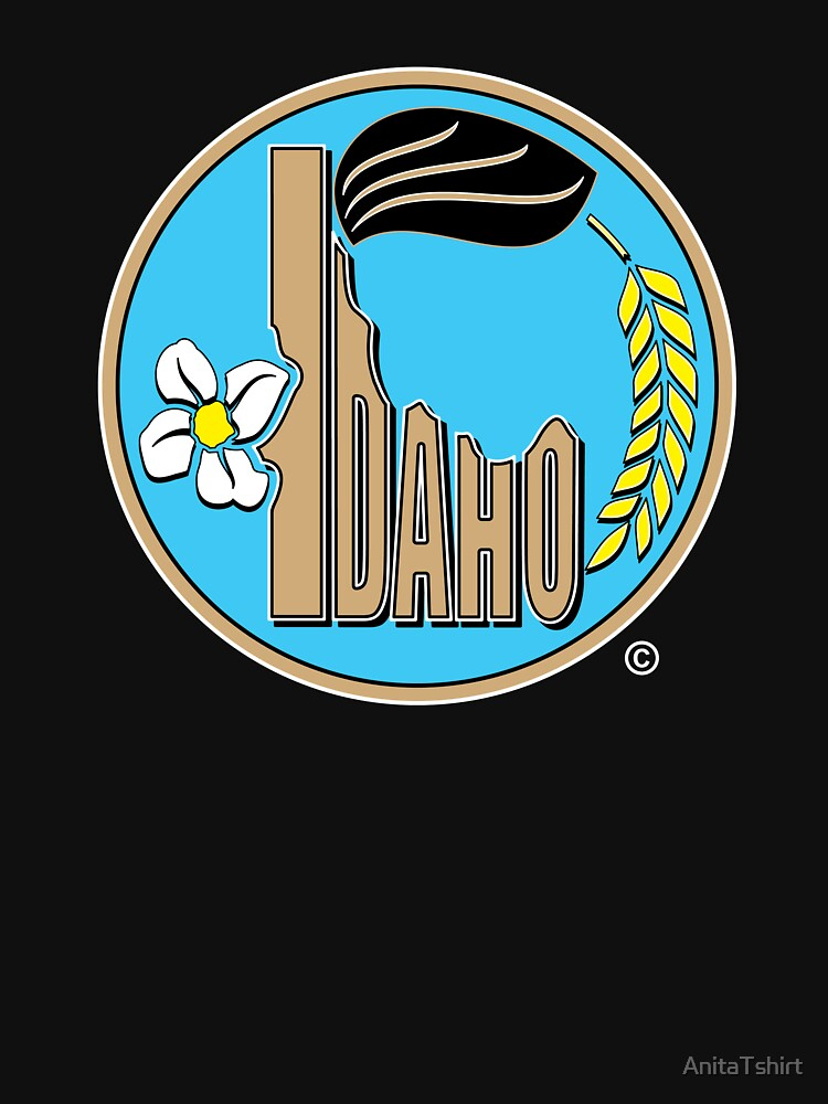 Idaho State Design by AnitaTshirt