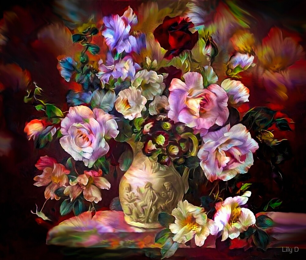 Floral composition by Art Dream Studio