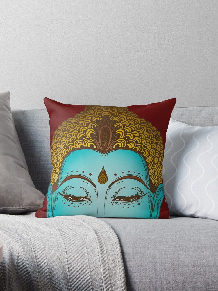 Enlightened Buddha Head Buddhism  by PeppermintClove