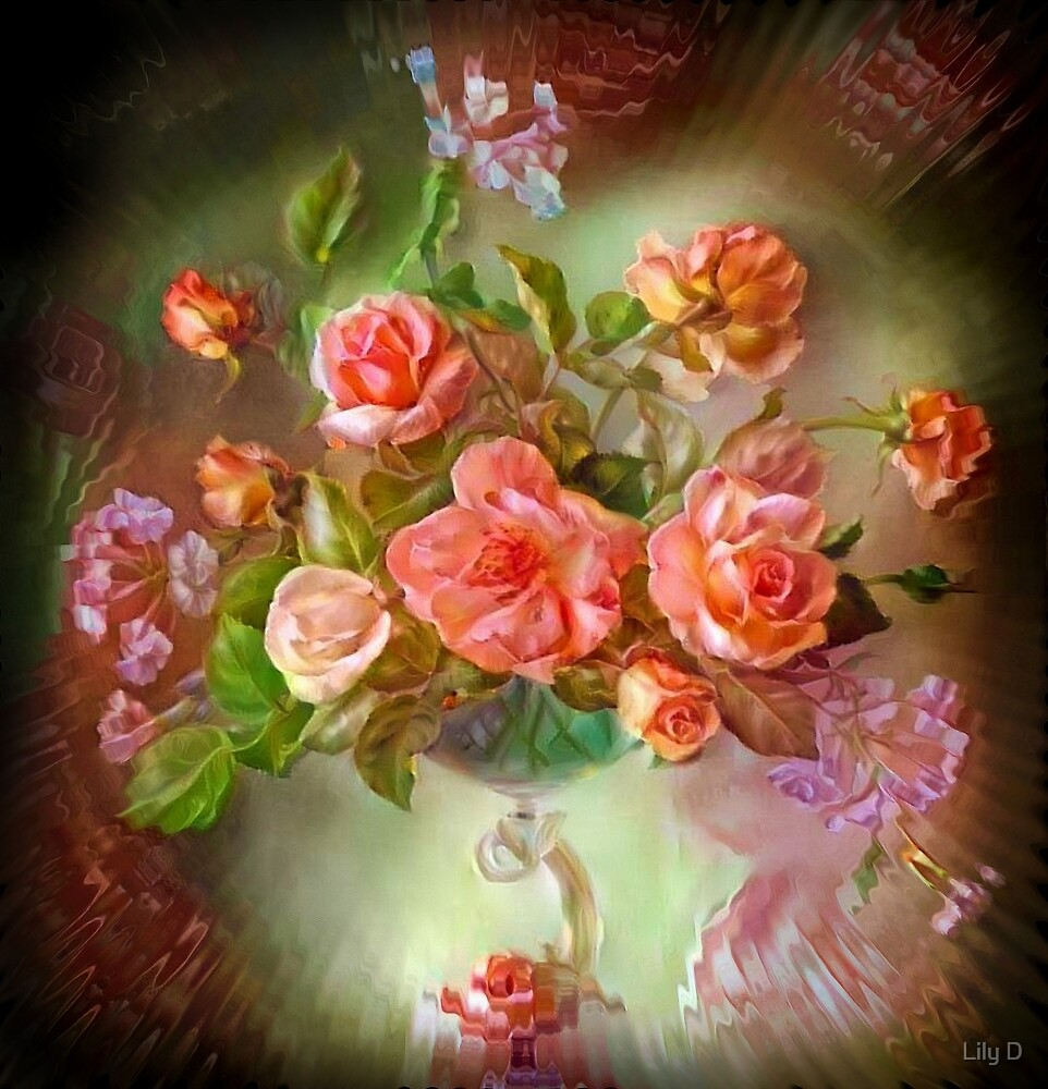 Floral composition by Art Dream Studio