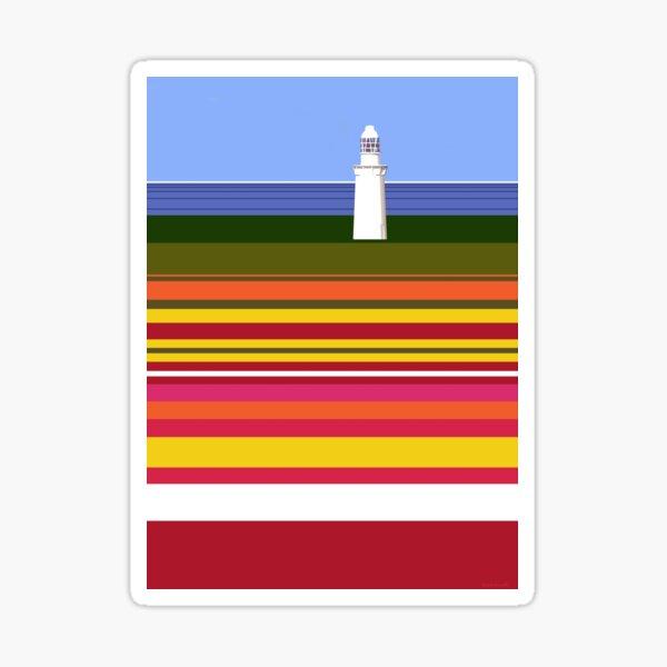 Table Cape Lighthouse, NW Tasmania. Sticker